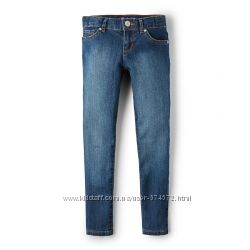 Новые Childrens Place джинсы скини Victory Blue Wash от 6 до 12 лет