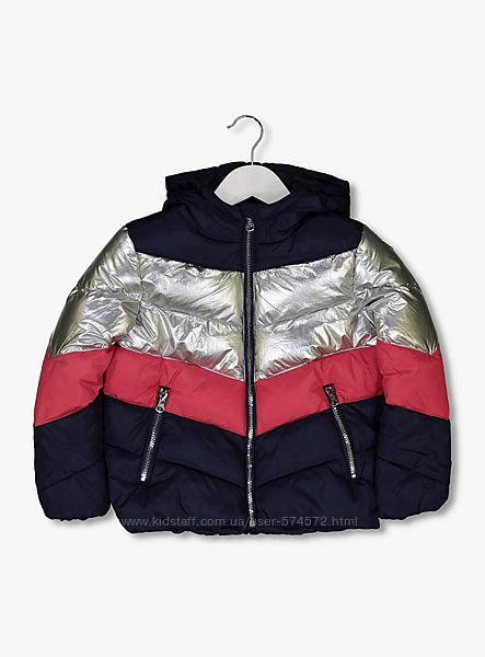 Новые куртки TU на девочек  3-4лет