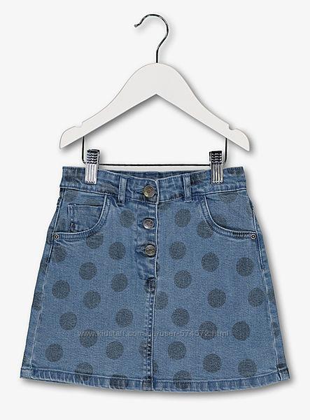 Новые джинсовые юбки TU на девочек 4, 5, 6, 9, 10 лет