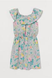 Новые платья и сарафаны H&M на девочек 10-12, 12-14, 14 лет