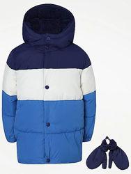Новые зимние куртки GEORGE на мальчиков 4-5, 5-6 лет