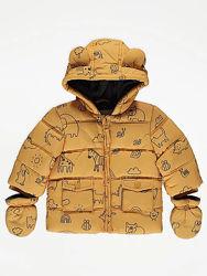Новые зимние куртки GEORGE на мальчиков от 9 до 24 месяцев