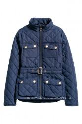 Стеганая  деми куртка 14 170 см 158 см 12-13