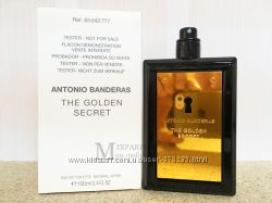 Оригинал Antonio Banderas The Golden Secret edt 100 ml m TESTER Туалетная