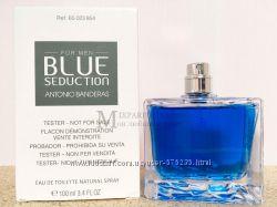 Оригинал Antonio Banderas Blue Seduction For Men edt 100 ml m TESTER