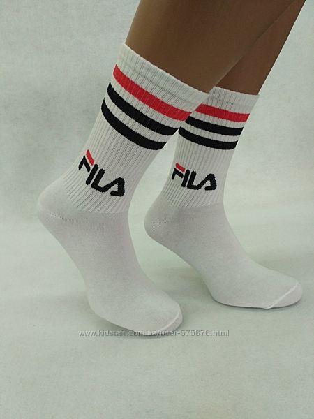 Стильные высокие носки Fila Фила