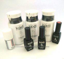Стартовый набор Kodi Professional для покрытия ногтей гель-лаком без лампы