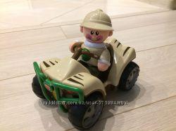 Развивающая игрушка &acuteКвадроцикл с фигуркой - Сафари&acute Tolo Toys
