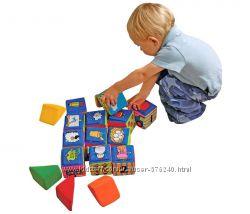 Мягкие развивающие кубики K&acutes Kids
