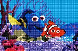 алмазная вышивка мозаика набор Рыбки