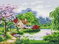 Алмазная мозаика набор Весенний день