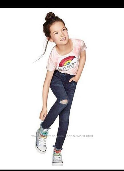 Крутые джинсы скини для девочки Pepperts размер134 на 8-9 лет.