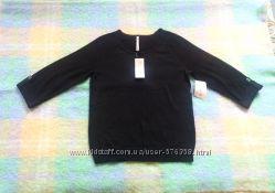Тонкий мягкий свитерок Leo and Nicole USA размер M, L хлопок и бамбук