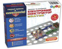 Конструктор- ЗНАТОК Первые шаги в электронике 34 схемы