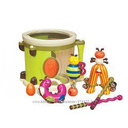 Музыкальная игрушка  Парам пам пам 7 инструментов, в барабане