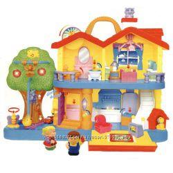 Игровой набор - Загородный дом свет, звук Kiddieland