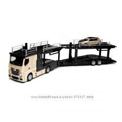 Игровой набор - Автотранспортер MERCEDES-BENZ ACTROS