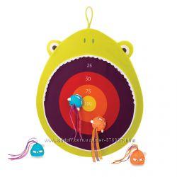 Развивающая игра с мишенью - Голодная лягушка Battat
