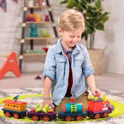 Игровой набор с железной дорогой Battat Баттатоэкспресс