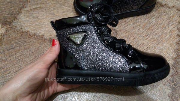Шикарные весенние ботиночки на девочку. Супер цена  наличии 27-28