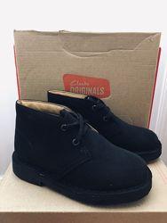 Кожаные ботинки дезерти Clarks 25, 5 p.