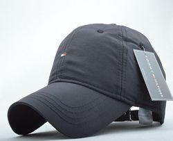 Кепка бейсболка Tommy Hilfiger темно-синяя черная кепки tommy hilfiger