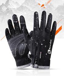Зимние мужские перчатки Kyncilor черные для сенсорных экранов