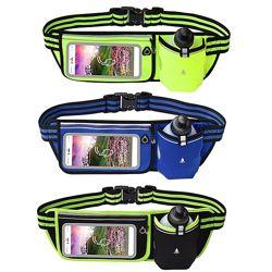 Сумка на пояс с бутылкой для воды и сенсорным экраном для смартфона BFspor