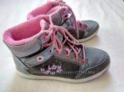 Теплые кожаные ботинки Дисней для девочки 34 размер