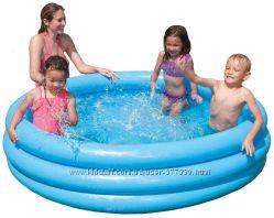 Бассейн надувной 58446 Водный мир, Intex интекс