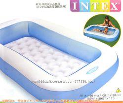 Бассейн надувной детский прямоугольный 57403 Интекс, басейн Intex