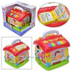 Говорящий домик развивающая игрушка сортер. Joy Toy 9149, теремок