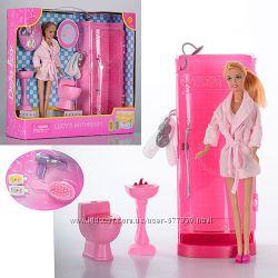 8215 Ванная комната с куклой Defa  дефа