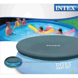 28020 Тент накрытие для бассейнов 244 см надувных Intex интекс чехол