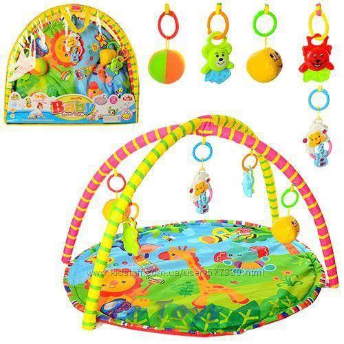 Развивающий коврик для малышей 518-17