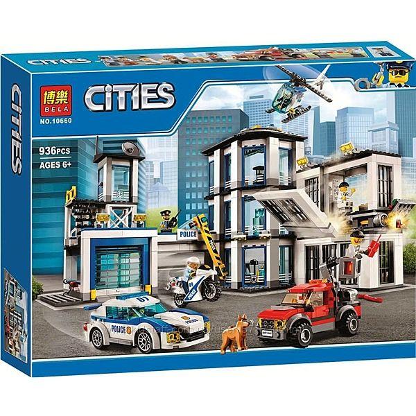 10660 Конструктор Bela City Сити Полицейский участок