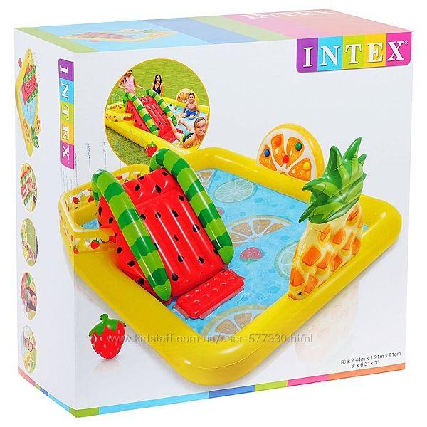 57158 Надувной игровой центр Intex бассейн