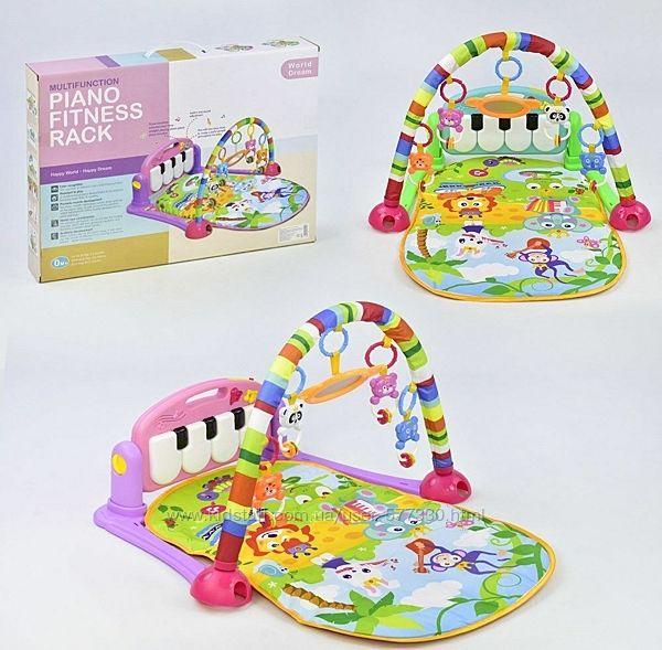 Коврик пианино для младенца HE 0603 - HE 0604, 2 цвета