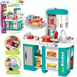 922-46 кухня с посудой детская игровая, вода льется