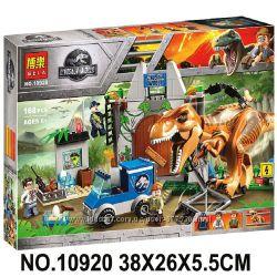 10920 Конструктор Bela Dinosaurs динозавры