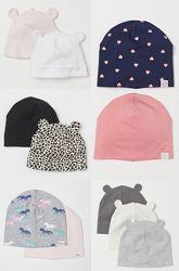 Деми шапка HM девочке 6-9, 1-2, 1.5- 4года