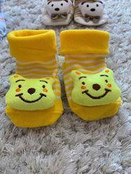 Детские носочки с 3Д зверюшкой