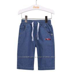 Клёвые бриджи шорты джинсовые ТМ Бемби мод. ШР-543, разм. 86