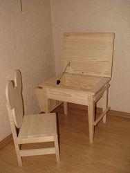 Стол для творчества и стул Микки комплект