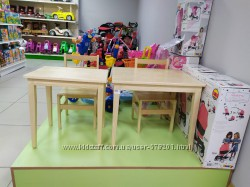 Стол деревянный детский