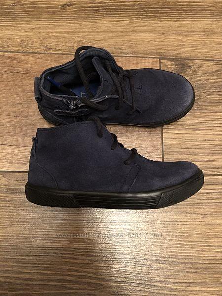 Замшевые демисезонные ботинки Next