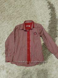 Рубашка для мальчика рост 122-128