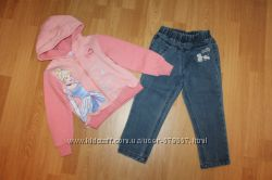 Теплый костюм Disney 104-110см