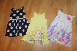 Платье F&F и H&M 98-104, 110см