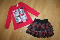 Наши фирменные одежки для девочки 3-6лет